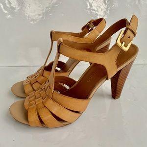 Franco Sarto Anton leather heeled sandals